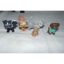 Boneca Barbie Animais Gato Cachorro Pet Shop Mattel Lote