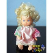 Boneca Bebê Menina Barbie Família Coração Da Estrela Anos 80