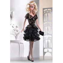 Barbie Silkstone Trace Of Lace Blonde - Platinum 2005 - Nrfb
