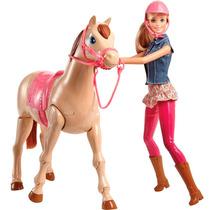 Boneca Barbie Family Cavalo Equitacão