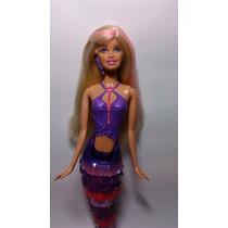 Boneca Barbie Vida De Sereia Com Mecanismo (nada De Verdade)