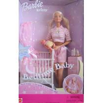Barbie E Krissy Hora De Dormir Babe Com Musica Nao Gravida