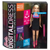 Barbie Vestido Digital Mattel Y8178- Pronta Entrega