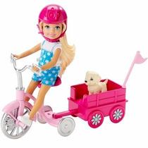 Boneca Barbie Chelsea Com Filhote - Mattel Clg02