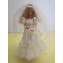 Barbie Estrela Moda Festa Noiva