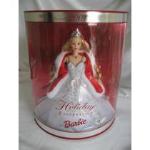 Barbie Holiday Celebration 2001 Nao Gravida Promocao Da Sema