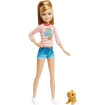 Barbie - Irmãs Com Pets / Stacie - Mattel