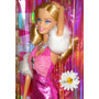 Barbie Articulada Fashionistas Glam 2009