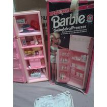 Geladeira Da Barbie Original Estrela Na Caixa