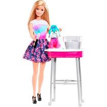 Barbie Family Cão Banho De Cores Mattel Cfn40 Mattel Oficial