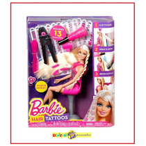 Barbie Tatuagem De Cabelo Mattel