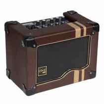 Caixa Amplificada P/ Violão Cavaquinho One Amp Sa100 20w Rms