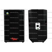 Caixa Ativa+passiva Leacs Pulps750 No Territorio Dos Djs
