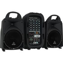 Caixa De Som Acústica Bivolt - Ppa 500 Bt - Behringer