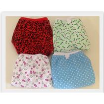 Tangas Cavadas Em Cotton G.g Kit Com 10 Calcinhas R$ 59,90