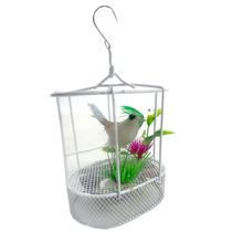 Mini Pássaro Sensor Sonoro Som Alerta Alarme Porta Enfeite