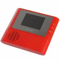 Olho Mágico Vermelho Lcd Colorido Digital Para Segurança