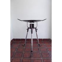 Kit Disco De Arado 60cm.diâmetro+ Tripé A Álcool Desmontável