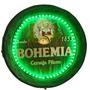 Bar Decor: Tampa De Barril C/ Luz Leds Cerveja Bohemia