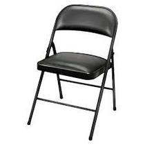 Cadeira Dobrável Maxchief Estofada - Bar Churrasco Eventos..