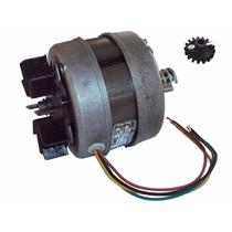 Motor Churrasqueira Giratória 1/30 Hp - Gme C/ Rosca-sem-fim