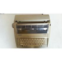 Máquina De Escrever Elétrica Brother E Gx-6750
