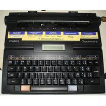 Maquina De Escreve Eletrica Canon
