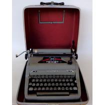 Máquina De Escrever Royal Quiet De Luxe (anos 50)