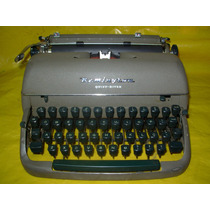 Maquina De Escrever Remington Quiet Riter Impecavel - Ok