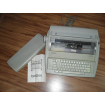Máquina De Escrever Eletrônica Brother Gx6750