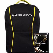 Mochila Mortal Kombat X