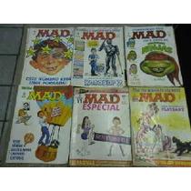 Lote Com 25 Revistas Mad Editora Record Oferta !!!!