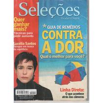 Revista Seleções Reader´s Digest C/lucelia Santos Fev.2005