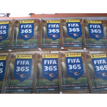 Figurinha Fifa 365 - Lote Com 10 Envelopes