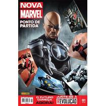 Revista Nova Marvel Nº 001 - O Ponto De Partida
