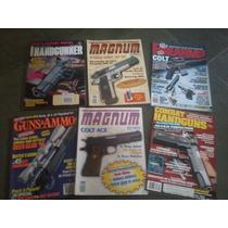 Revistas De Armas De Fogo - Eua E Brasil - Lote Ou Avulsa