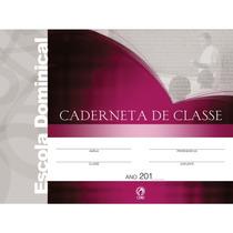 Caderneta De Classe Escola Bíblica Dominical.