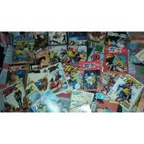 Gibis Tex Globo Mythos Lote Com 24 Quadrinhos Tex Raros