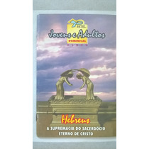 Revista De Escola Bíblica Dominical Jovens E Adultos 1998