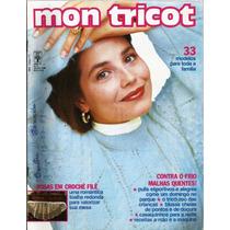 270 Rvt- Revista Artes- 1989 Mon Tricô Crochê Antiga Nº 111