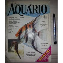 Revista Vida No Aquário Nº 1 Editora Três 1987
