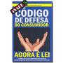 Livro Código De Defesa Do Consumidor Agora É Lei 8078/1990