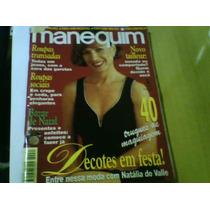 Revista Manequim Nº431 Nov95 Natália Do Valle Com Moldes