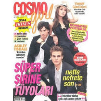 Revista Cosmo Girl: Diários Do Vampiro / Ian Somerhalder