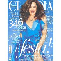 Revista Claudia Nº50: Claudia Raia / Lidia Weber / De 2011