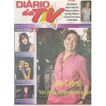 Jornal Caderno: Lilia Cabral / Fernanda Vasconcellos / Bbb10