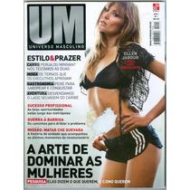 Revista Um Universo Masculino Nº 1 Ellen Jabour- Che Guevera