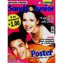 Revista-pôster Super Astros Pop Extra 1 * Sandy & Junior