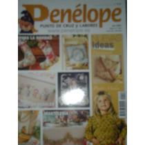 Penélope Ponto Cruz E Labores -com Grafico-n 126