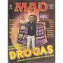 Revista Mad - Nº 25 - Ano 1986 - Drogas - Ed. Record